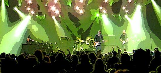 Bryan Adams Concert Stage by Anirudh Koul