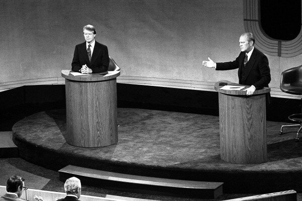 carter and ford debate